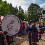 Burgmarkt Nutscheid Forest Pipe Band/ Jiri Hampl